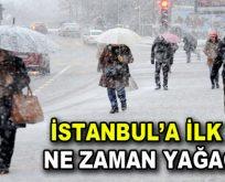 İstanbul'a Kar gelecek mi?