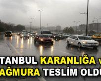 İstanbul'a kuvvetli yağış uyarısı yapıldı