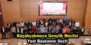 Küçükçekmece Gençlik Meclisi yeni başkanını seçti