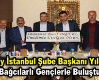 Kızılay İstanbul Şube Başkanı Yıldırım, Bağcılarlı gençlerle buluştu