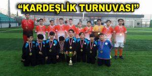 """Türk ve Suriyeli çocuklardan """"Kardeşlik Turnuvası"""""""