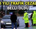 2018 yılı trafik cezaları belli oldu
