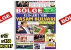 """BÖLGE GAZETESİ , YIL:17 , SAYI: 168 , """"ARALIK-2017"""""""