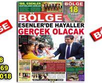 """BÖLGE GAZETESİ , YIL:18 , SAYI: 169 , """"OCAK 2018"""""""