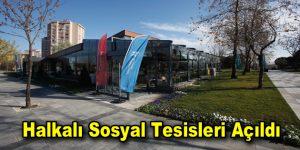 Küçükçekmece'ye yeni bir sosyal tesis açıldı