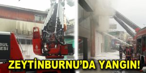 Zeytinburnu'da Yangın!