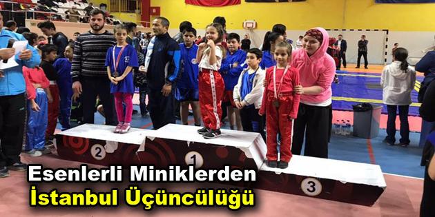 Esenlerli Miniklerden İstanbul Üçüncülüğü