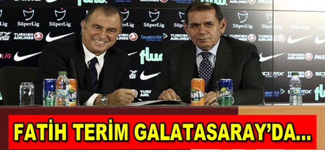 Fatih Terim Galatasaray'da…