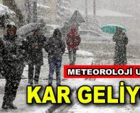 İstanbul'da beklenen kar kapıya dayandı