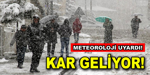 Meteoroloji'den İstanbul için kar yağışı uyarısı geldi!