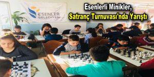 Esenlerli minikler, Satranç Turnuvası'nda yarıştı