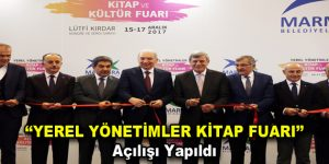 """""""YEREL YÖNETİMLER KİTAP FUARI' açılışı yapıldı"""