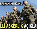 Cumhurbaşkanlığı'ndan bedelli askerlik açıklaması!