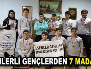 Esenler'in gençleri Wushu'da 7 madalya kazandı
