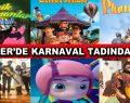 Esenler'de Karnaval Tadında Tatil