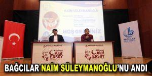 Bağcılar, Naim Süleymanoğlu'nu andı