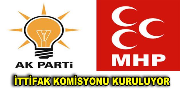 AK Parti ve MHP birleşiyor