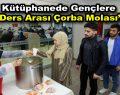 """Bağcılar Belediyesi'nden gençlere """"Çorba Molası"""""""