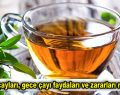 Bitki çayları, gece çayı faydaları ve zararları nelerdir?