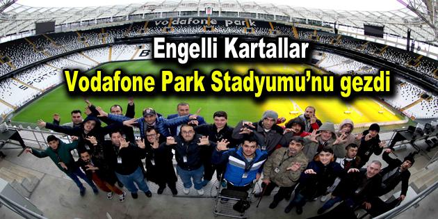 Bağcılarlı engelli kursiyerler Vodafone Park Stadyumu'nu gezdi