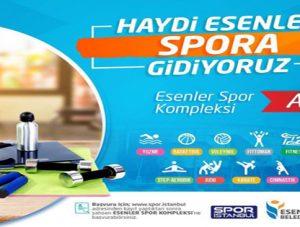 Esenler Spor Kompleksi Açıldı