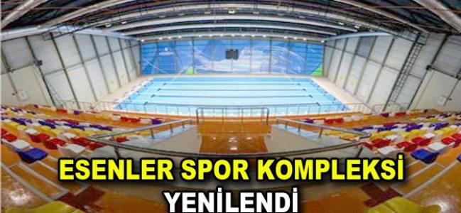 Esenler Spor Kompleksi hizmet açıldı