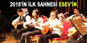 ESEV öğrencileri sahnede…