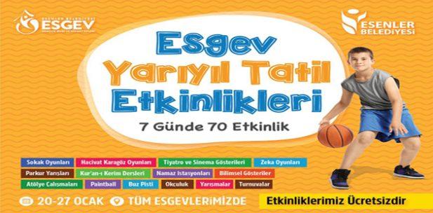 ESGEV Yarıyıl Tatil Etkinlikleri