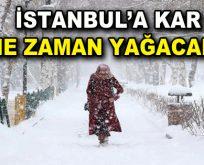 İstanbul'a kar ne zaman gelecek? Yeni tarih verildi!