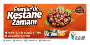 Esenler'de Kestane Festivali