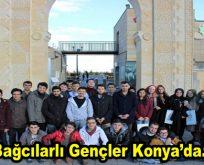 Bağcılarlı gençler Konya'ya çıkarma yaptı