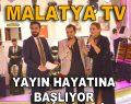 MALATYA TV YAYIN HAYATINA BAŞLIYOR