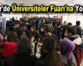 Esenler'de Üniversiteler Fuarı'na yoğun ilgi