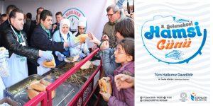 Esenler'de 8. Geleneksel Hamsi Festivali düzenlenecek…