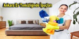 Ankara Ev Temizliğinde İpuçları