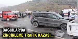 Bağcılar'da zincirleme trafik kazası!