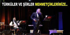 Esenler'de, türküler ve şiirler Mehmetçiklerimize gönderildi