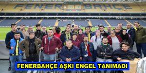 Bağcılarlı engelli öğrenciler Fenerbahçe Müzesi'ni ziyaret etti