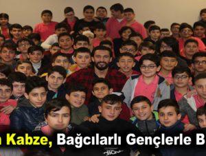 Hasan Kabze, Bağcılarlı gençlerle buluştu