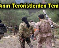 Kilis sınırı teröristlerden temizlendi