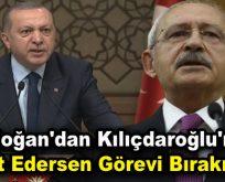"""Erdoğan'dan Kılıçdaroğlu'na: """"İspat Edersen Görevi Bırakırım!"""""""