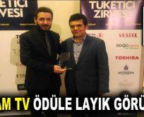 """""""Yılın En İyi Çıkış Yapan Kanalı"""" YAŞAM TV oldu"""