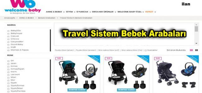Travel Sistem Bebek Arabaları