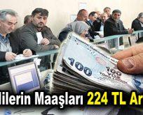 Emeklilerin maaşları 224 TL artabilir!