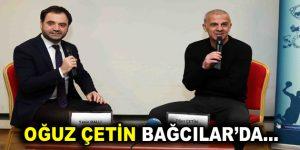 Eski Milli Futbolcu Oğuz Çetin, Bağcılar'da öğrencilerle bir araya geldi
