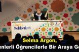 Selma Argon, Esenlerli öğrencilerle bir araya geldi
