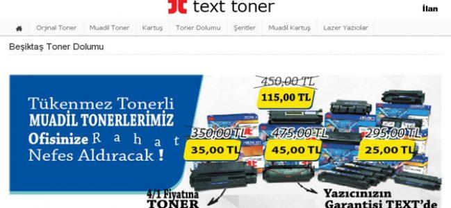 Beşiktaş Toner Dolumu Hizmetlerinde Kurumsallık Garantisi