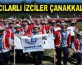 Bağcılarlı izciler Çanakkale Şehitlerini ziyaret etti