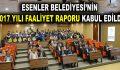 2017 YILI FAALİYET RAPORU KABUL EDİLDİ