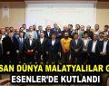 4 Nisan Dünya Malatyalılar Günü Esenler'de kutlandı